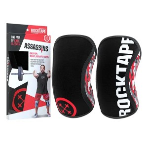 RockTape Assassins Knee Sleeves Red Camo ArmourUP Asia Singapore