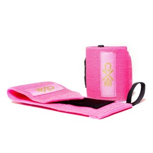 Cotton Wrist Wraps (Neon Pink) by ExoSleeve ArmourUP Asia Singapore