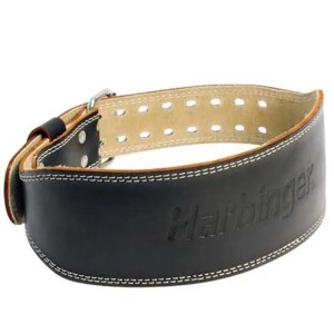Harbinger Padded Leather Belt 4 Inch ArmourUP Asia Singapore