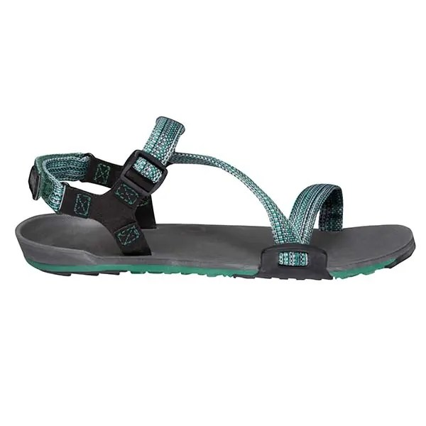 Xero Shoes Women s Z-Trail Sports Sandals Charcoal Multi-Green Side  ArmourUP Asia Singapore 928195279