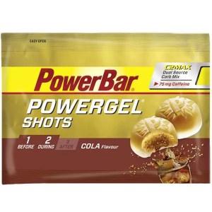 PowerBar PowerGel Shots 60g Cola Caffeine Singles ArmourUP Asia Singapore