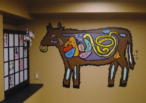 ホルモンキング壁画