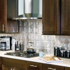 Tin Kitchen Backsplash Cabinets Charleston Sc Tile Ceilings Armstrong Residential Contemporary With Metal