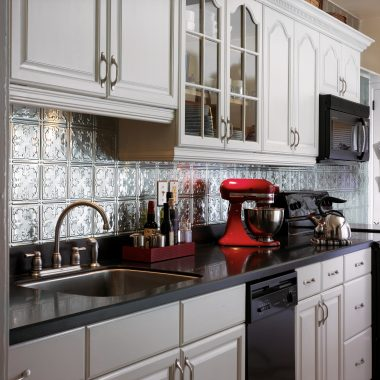 tin kitchen backsplash cabinet hinges tile ceilings armstrong residential tiles that match your style