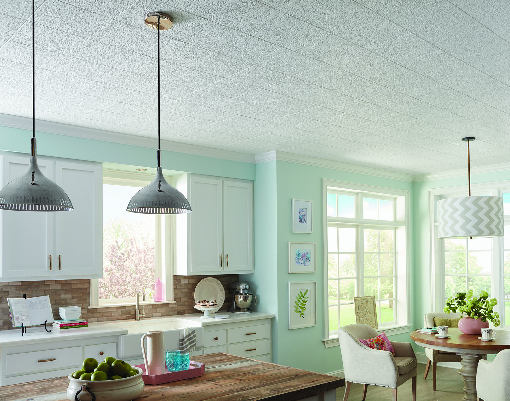 Knock Down Texture On Ceilings