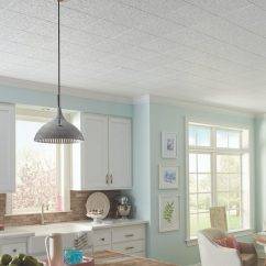 Kitchen Ceiling Tiles Open Island Knock Down Texture On Ceilings Armstrong