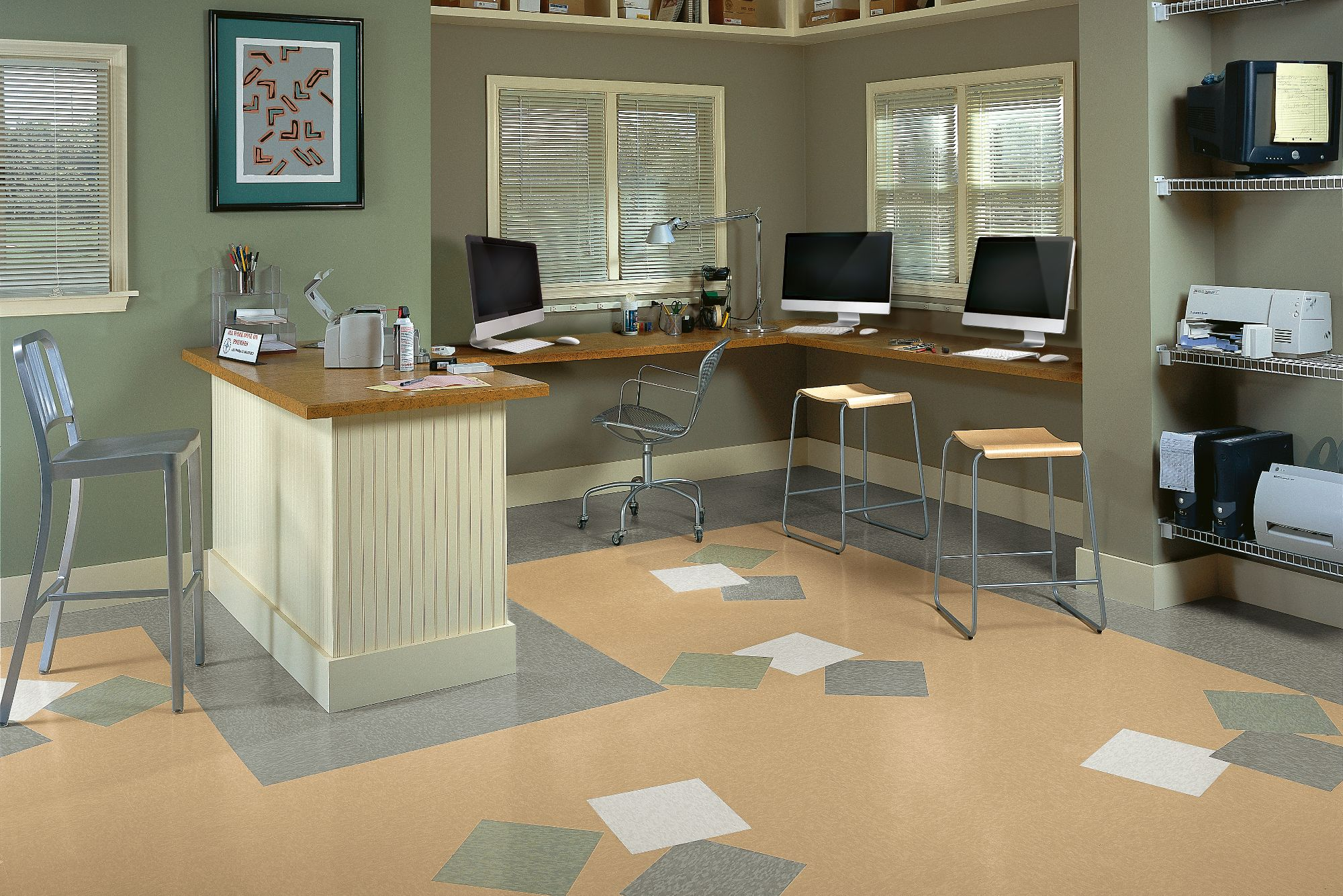 static control flooring armstrong
