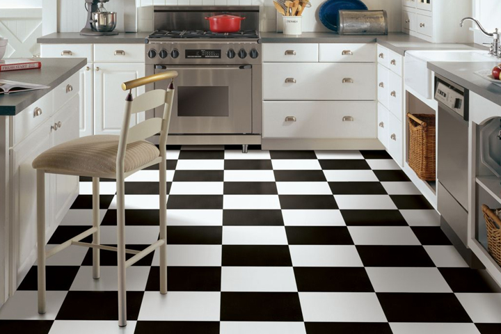 black and white tile kitchen chairs vinyl flooring for the banbury collection norwalk a7102