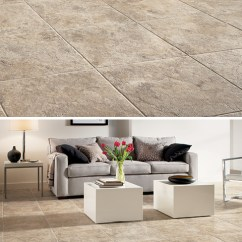 Ceramic Tile Flooring Pictures Living Room Lake House Design Best Engineered Elegant Stone For The D4170 Tuscan Path Cameo Brown