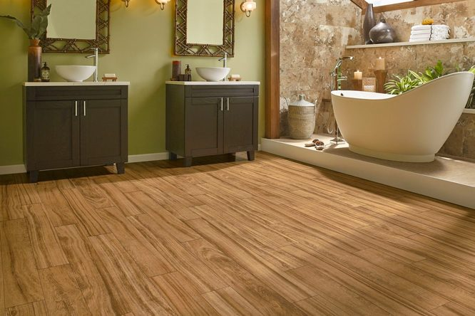 Wood Laminate Flooring In Bathroom wood laminate flooring