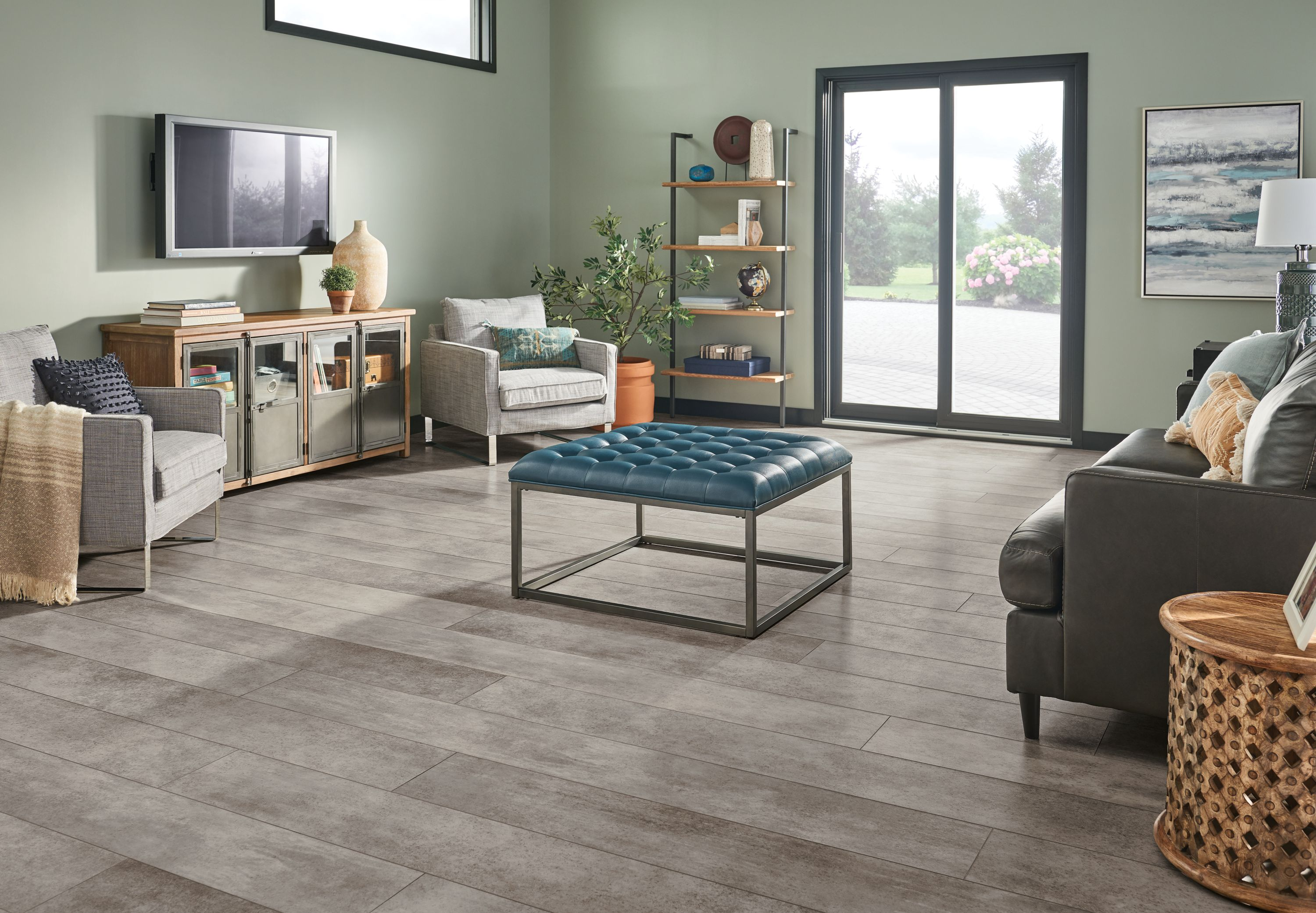 design a room with flooring armstrong