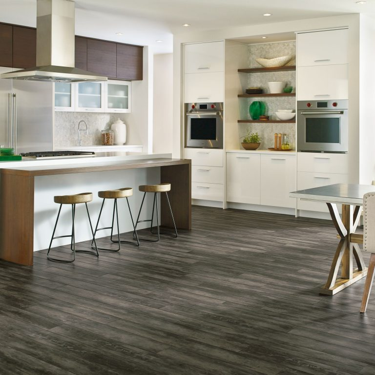 flooring kitchen distressed black cabinets guide armstrong residential inspiration gallery