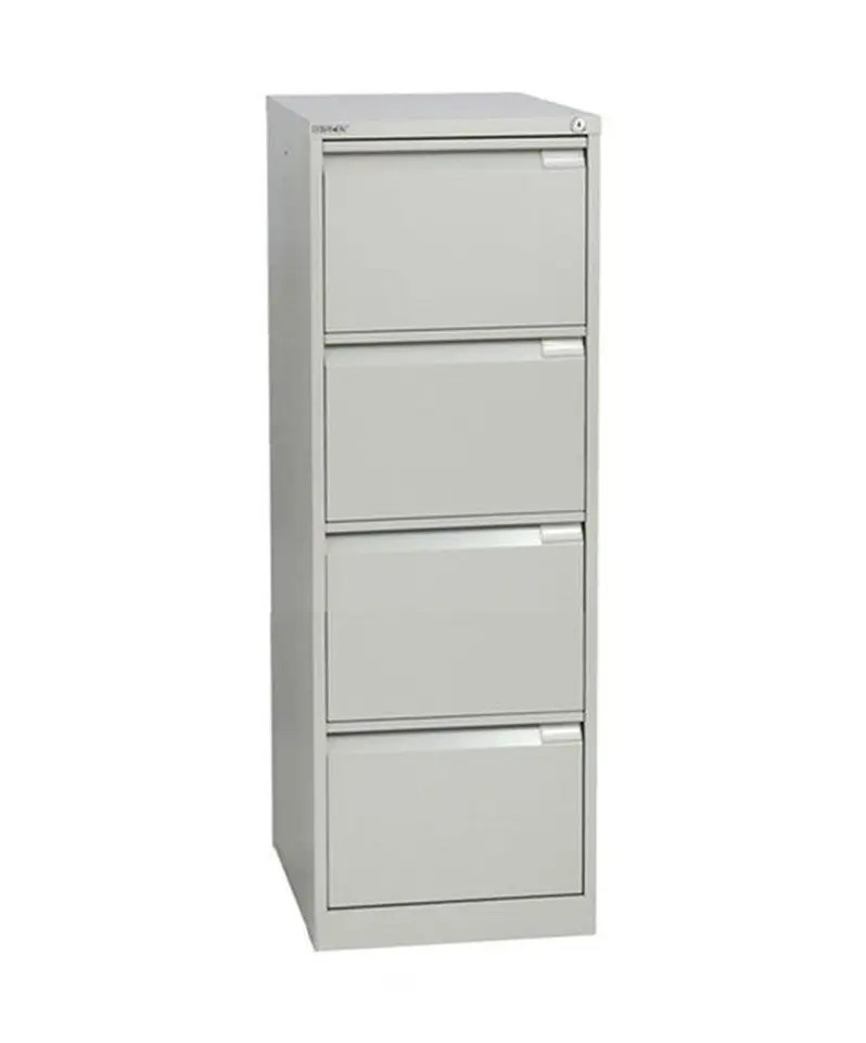 Four drawer Bisley executive filing cabinet