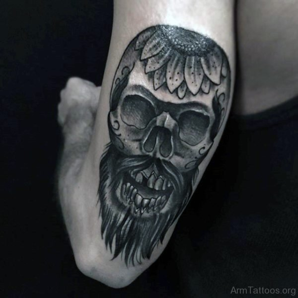 Skull Arm Tattoos For Men