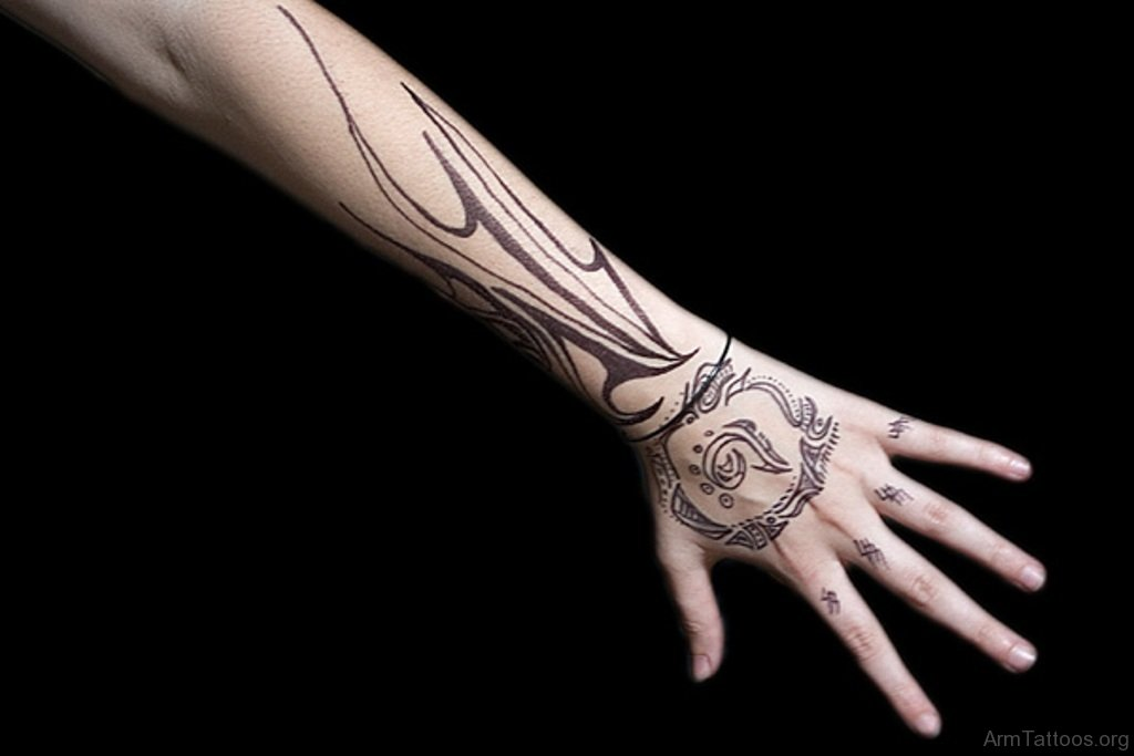 Tribal Hand Tattoos Men