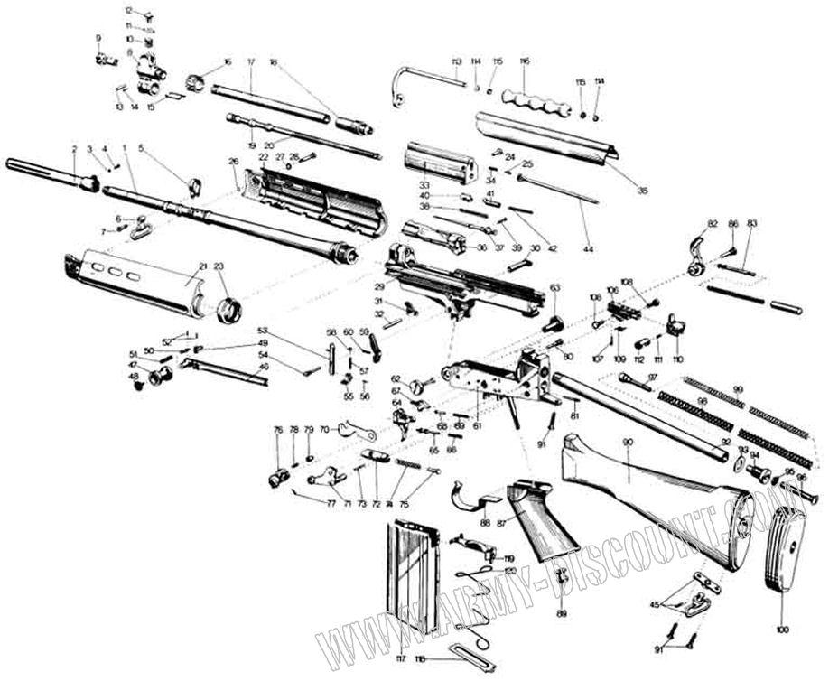A.D.S: Liste des éclatés pour les pièces détachées