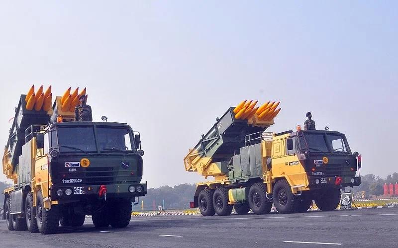 DRDO Pinaka weapon system