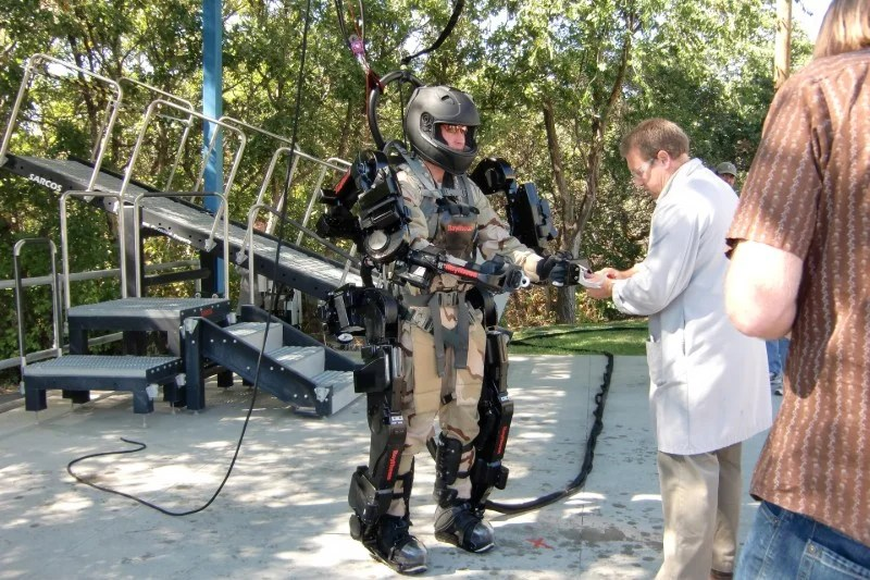 us army exoskeletons which