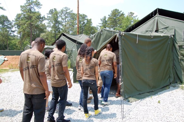 Dentsville Recruiting Station hosts a Future Soldier