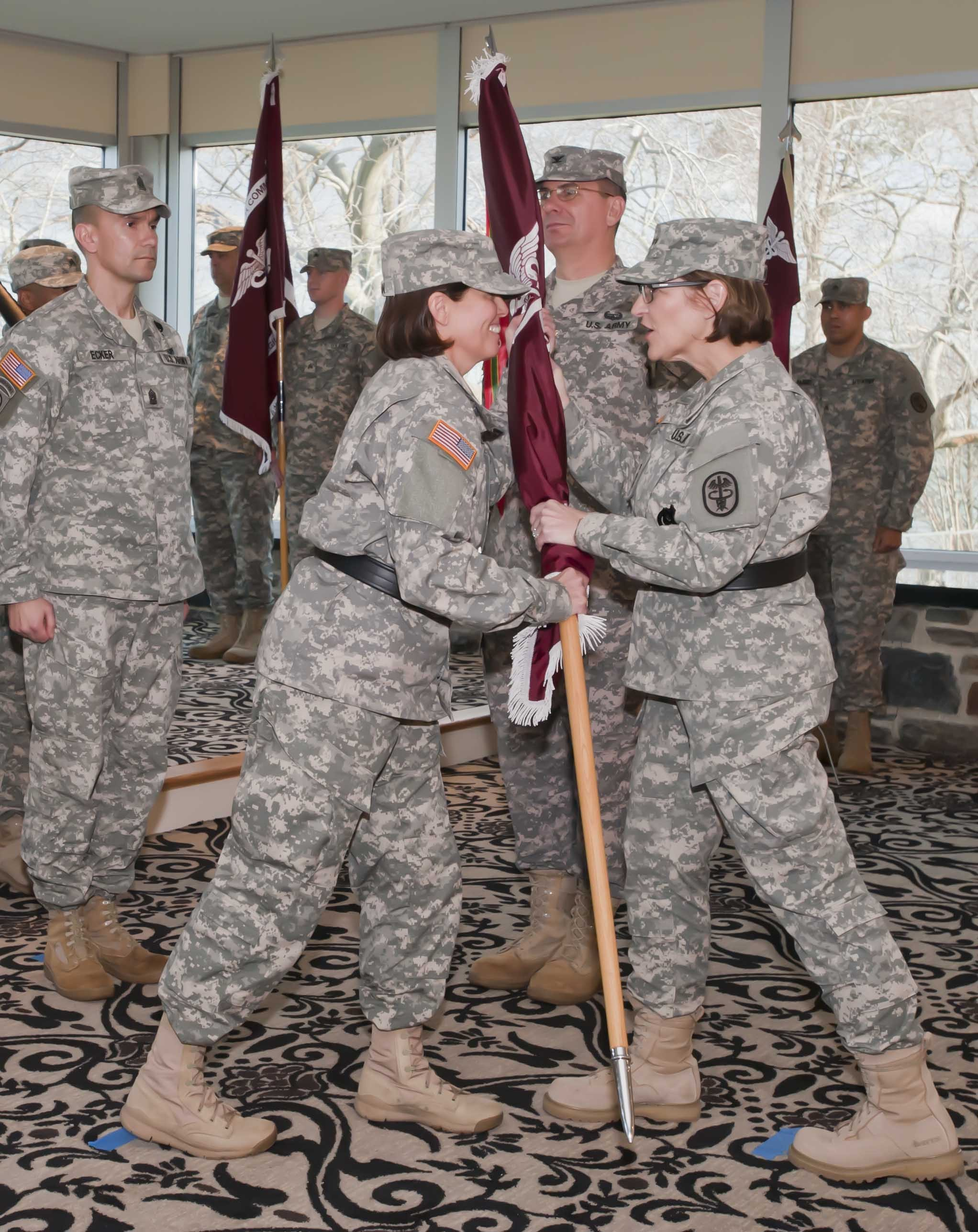 Keenan Takes Command Of U S Army Public Health Command
