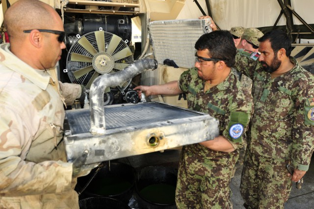 25th Combat Aviation Brigade mechanics help Afghans learn tools of trade  Article  The United