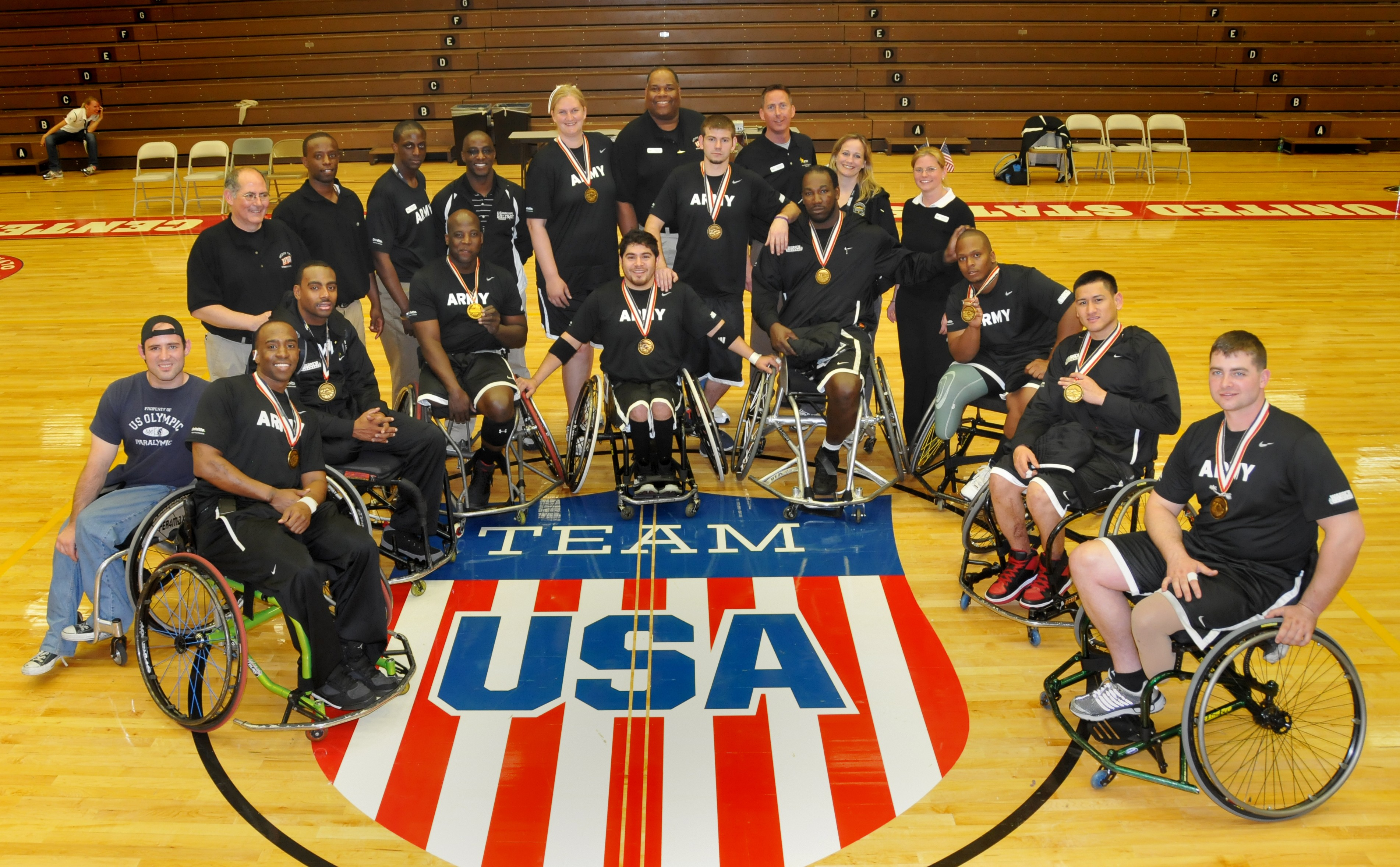 wheelchair volleyball white high back office chair live feed 2012 warrior games championship seated
