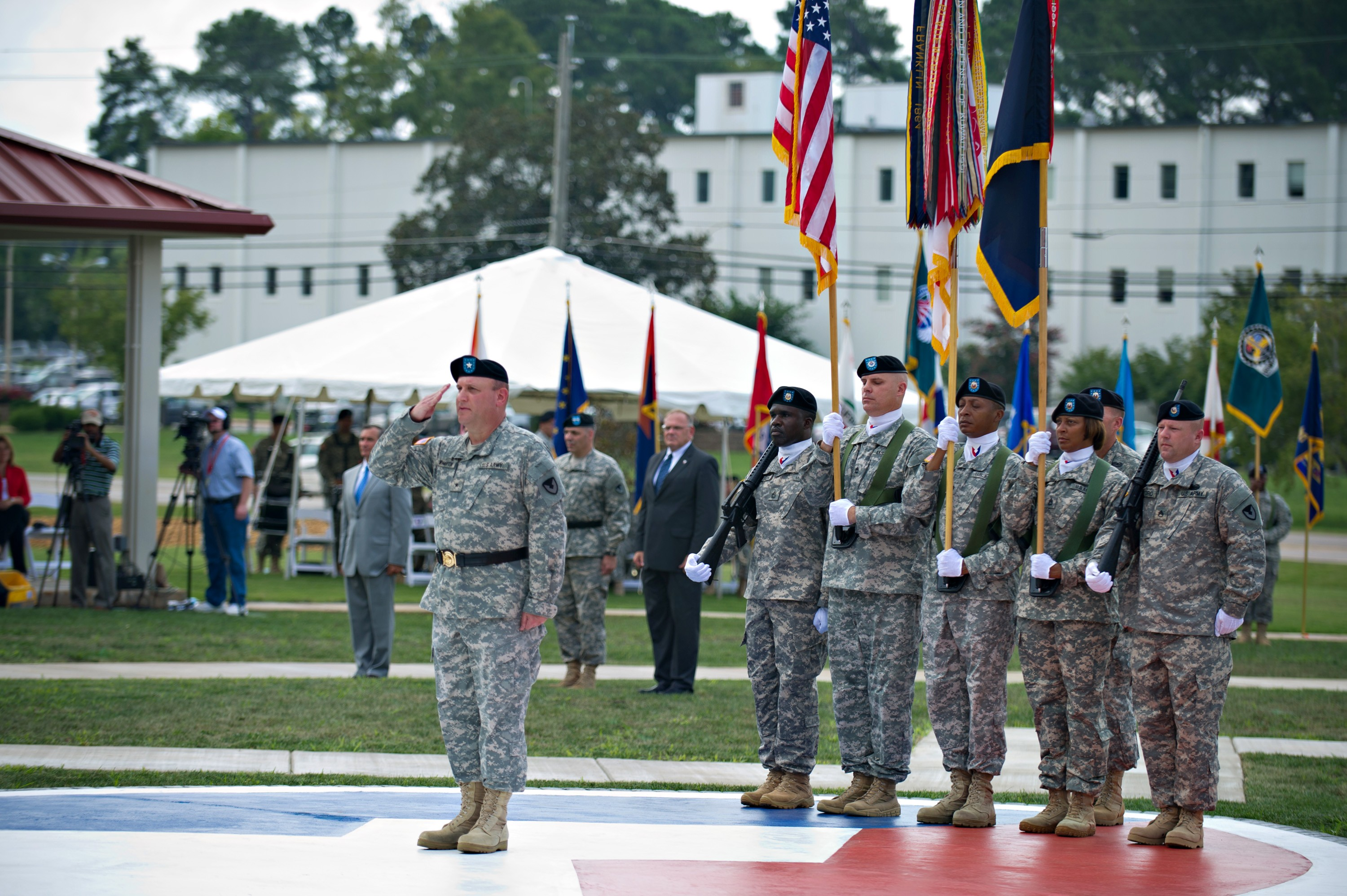 Gen Dennis L Via S Promotion Ceremony And Amc Change Of