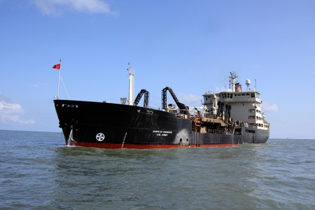 Army Corps Engineers Ships