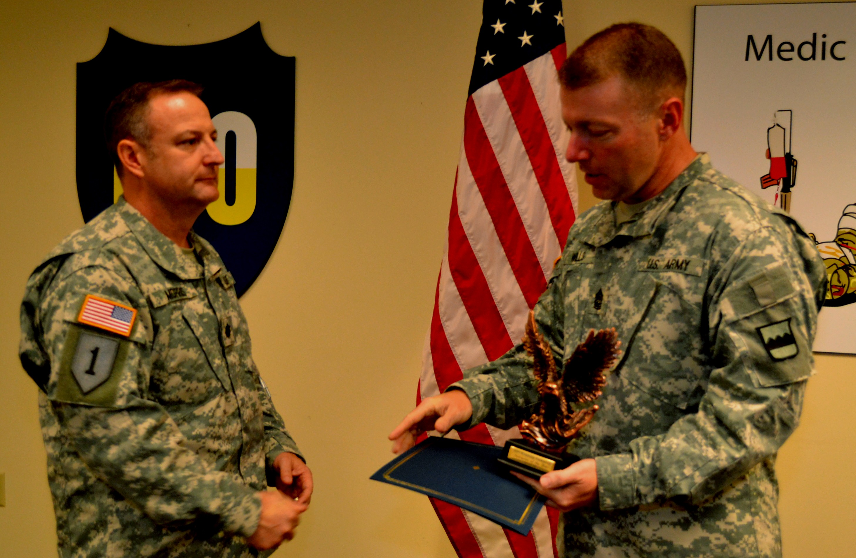 80th Training Command Selects Instructors Of The Year
