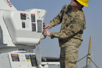 Afghan electrical engineers linemen receive training new equipment  Article  The United
