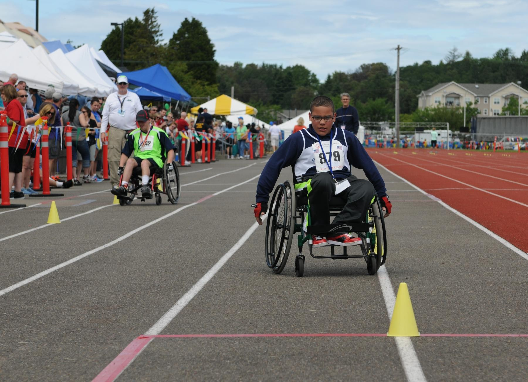 wheelchair olympics chairs for posture support lewis mcchord hosts special summer games