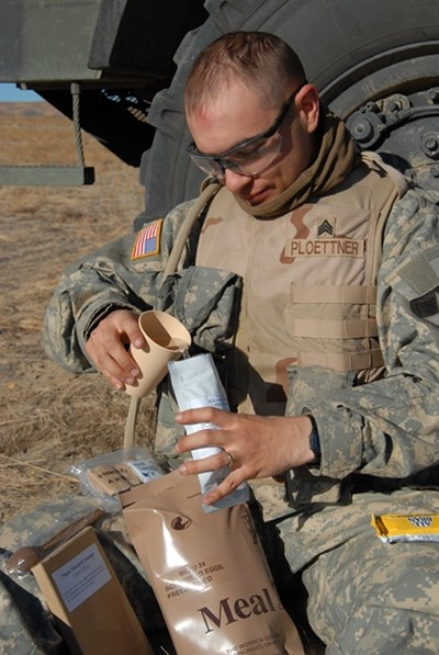 MRE production for 2014 does away with lasagna refried