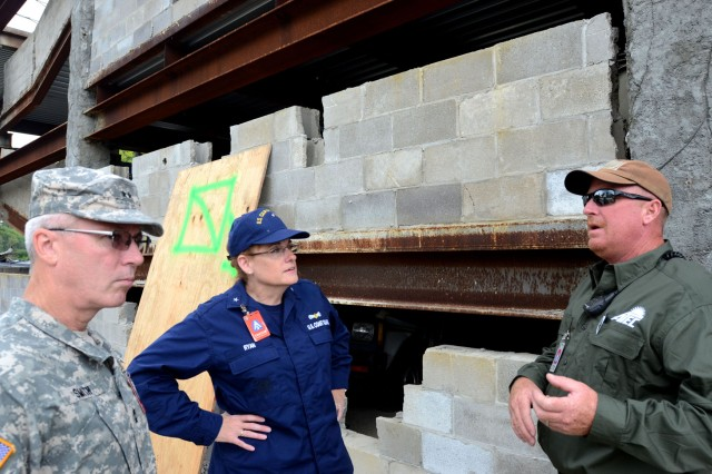 Homeland Security military advisor visits Vibrant Response  Article  The United States Army
