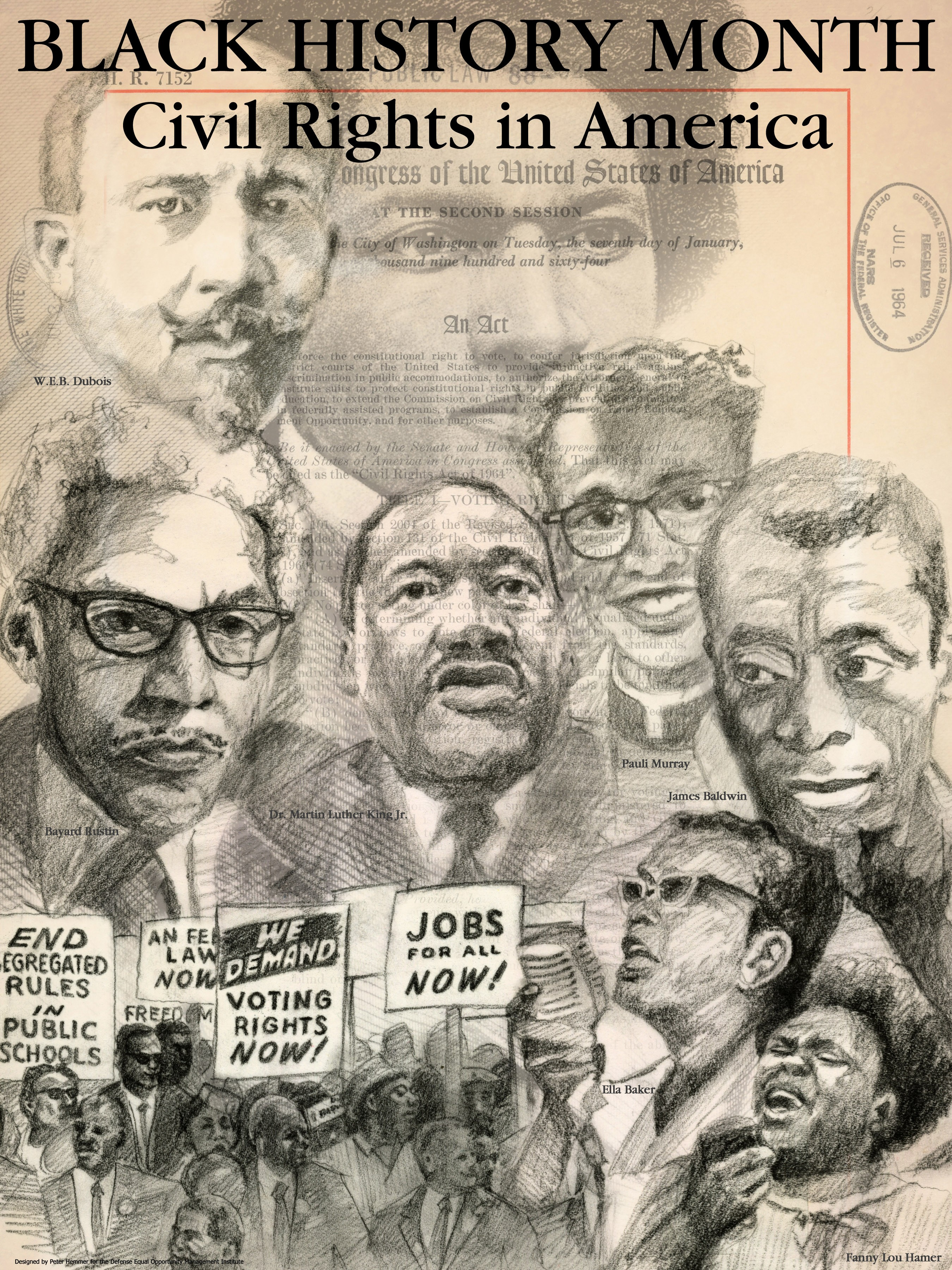 African American Black History Month Civil Rights In