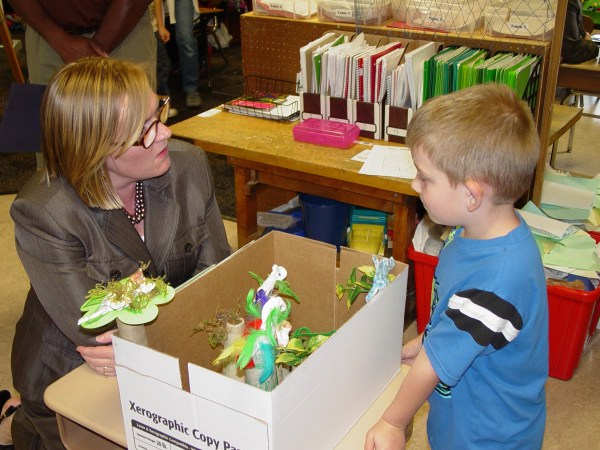 Elementary Students Share Stem Projects With Caaa