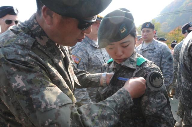 Badge Infantryman Korea Us Army Combat
