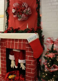 Christmas Chimney Door Decorations | Psoriasisguru.com