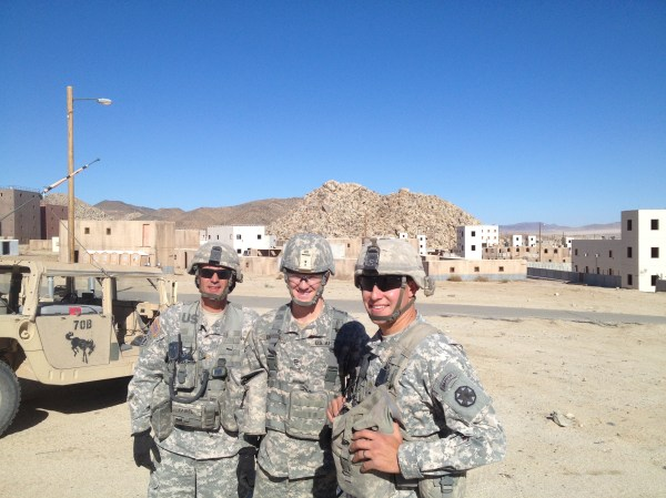 West Point Cadets assist Fort Irwin with its new 100year