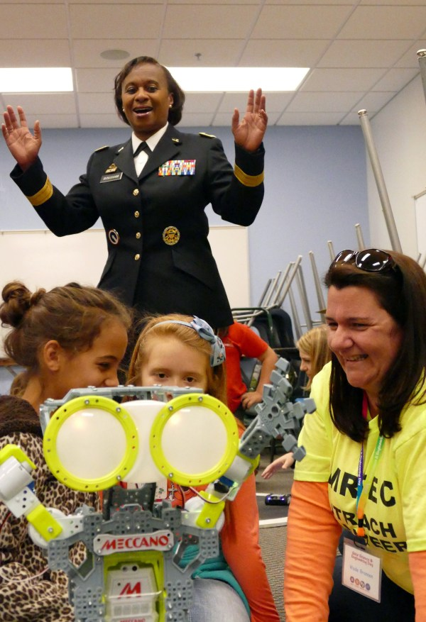 Army Supports Girls' Stem Education Careers Article