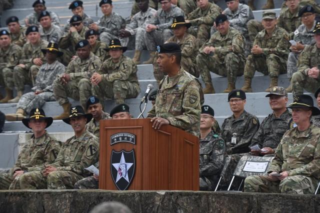 Army Us Korea Combat Badge Infantryman