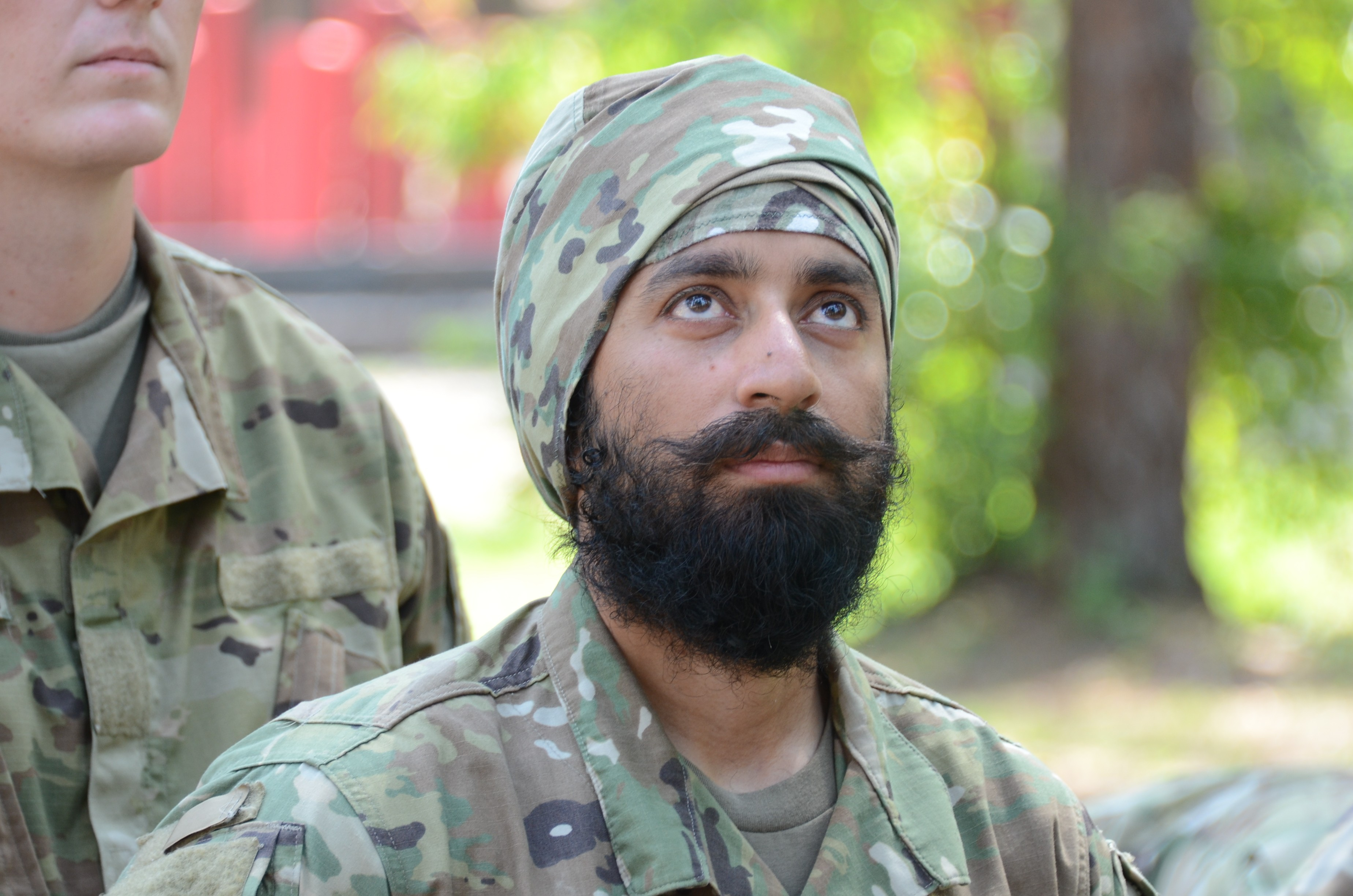 He Is A Soldier Beard Turban Exemption Granted For Sikh