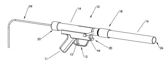 Patent awarded for 'novel' projectile launcher design