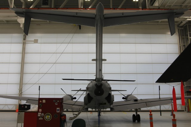 In the CFA's new facility, CERDEC will be able to support all aspects of airborne experimentation in fully climate-controlled high-bay and low-bay aircraft hangars; this includes an aircraft-component maintenance shop, administrative facilities, a fixed wing taxiway and a rotor wing landing pad.