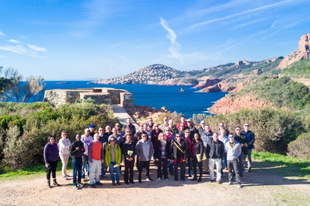 SAINT-RAPHAËL France - 36 leaders of the 212th Combat Support Hospital participated in a staff ride covering Operation Anvil-Dragoon, the invasion of Southern France during World War II, Feb. 26, 2017 (U.S. Army Photo by Maj. Chris Angeles, 67th Forward Surgical Team)