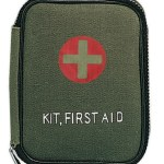 First Aid Kit Zippered Pouch OD8328 HR1