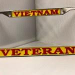 Vietnam Veterans License Plate Frame