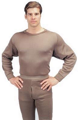 Military ECWCS Polypropylene Thermal Underwear Shirts