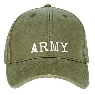 Army Caps Vintage Army Logo Baseball Cap Army Navy Shop