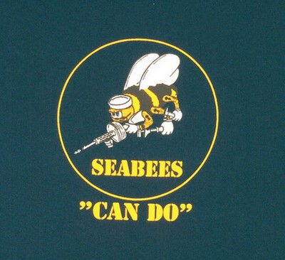 US Navy Seabees Can Do Military TShirt Army Navy Shop