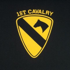 Sport Folding Chairs Office Chair Wheels On Hardwood Floors Military Shirts 1st Cavalry Logo T-shirt: Army Navy Shop